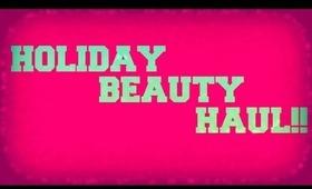 Holiday Beauty Haul || NARS, BENEFIT, BAREMINERALS, URBAN DECAY & more!!!