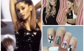 ARIANA GRANDE PROBLEM INSPIRED NAILS!!!