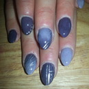 purple mavue nails
