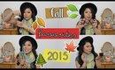 Fall Favorites Tag 2015 🍃🍁🌲🍂 | MakeupANNimal