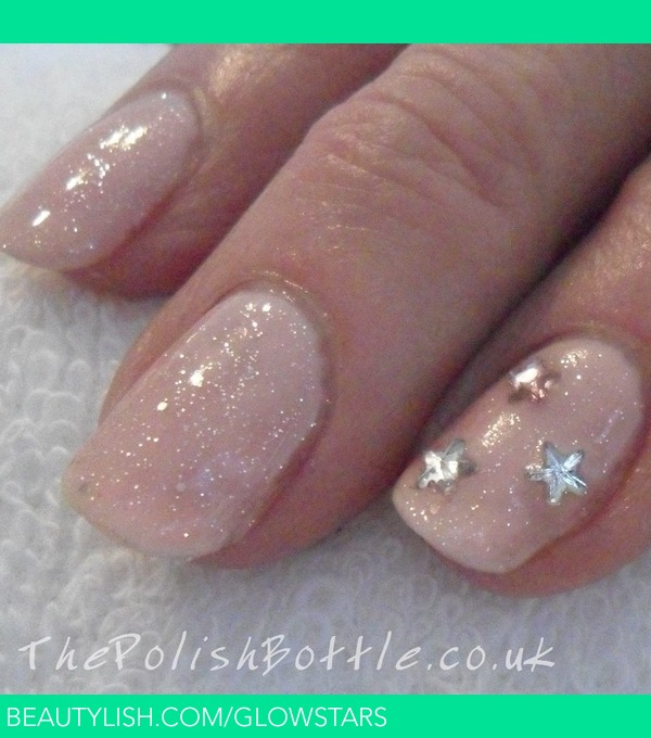 Gelish Pink Smoothie and June Bride | Vic Glowstars P.\'s (glowstars ...