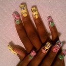 3D SpongeBob Nails