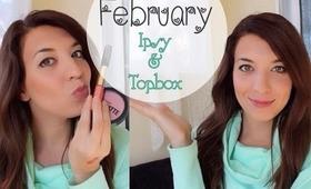 February IPSY & Topbox | ZG Beauty