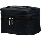 Celebrity Black Croc Cosmetic Bag