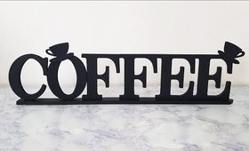 DIY Coffee Letters Home Décor