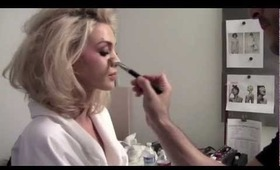 """Behind the Scenes Holiday Beauty Editorial """"WINTER WONDERLUST"""""""