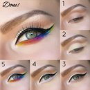 Step by Step Easter Rainbow