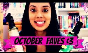 2014 October Faves : Makeup, Skincare, and Hair Products!