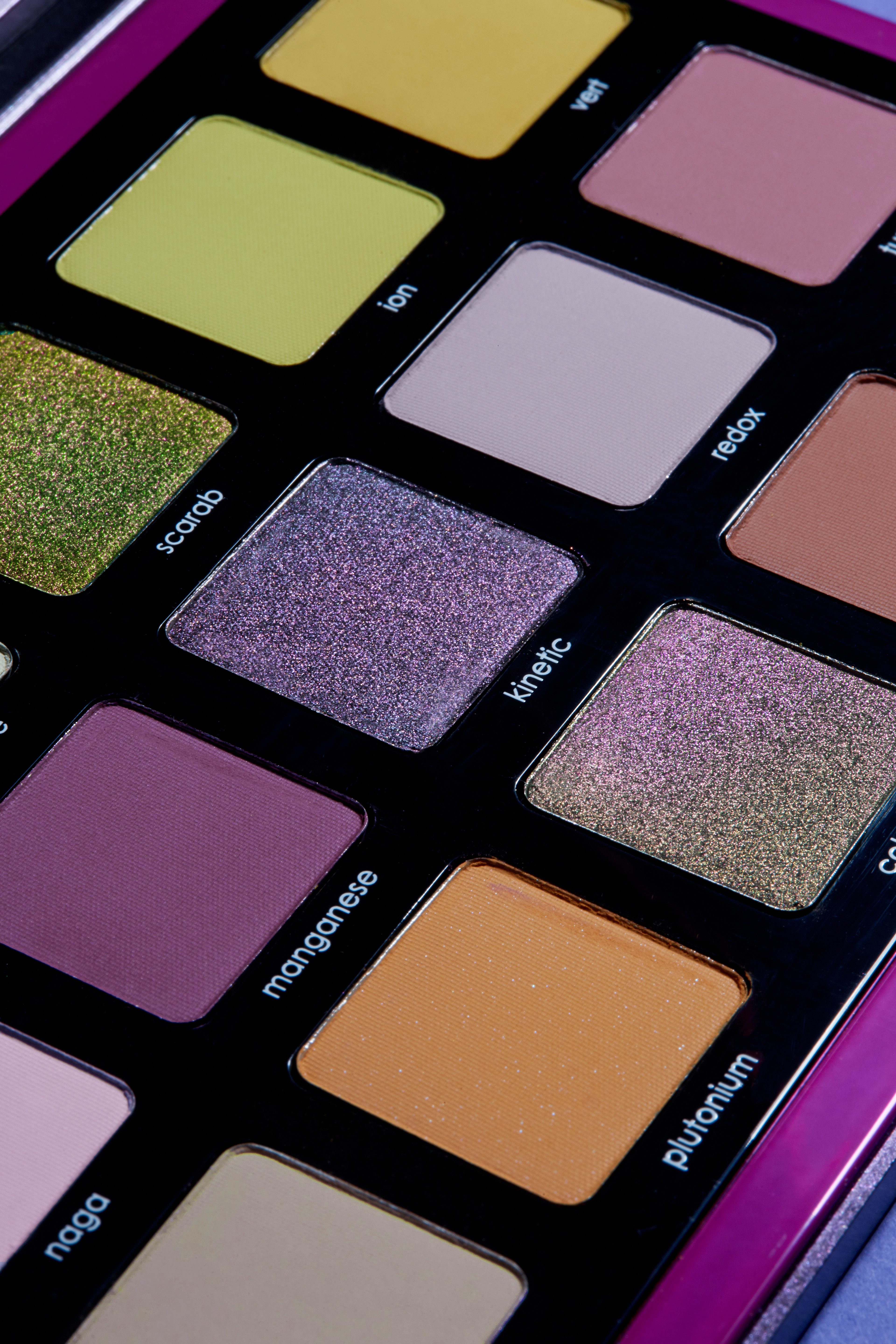Alternate product image for Triochrome Palette shown with the description.