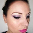 Purple & Hot Pink