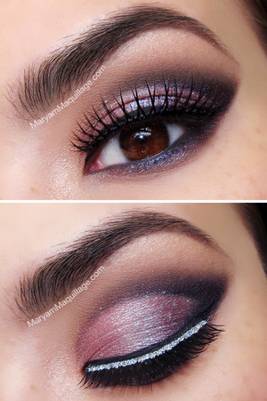 how-to & details: http://www.maryammaquillage.com/2012/12/like-present-holiday-makeup.html