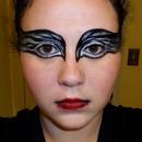 Black Swan Makeup Look