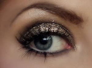 New Years Eve Disco Inspired Look   Tutorial coming soon!
