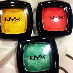 Got some new nyx shadows excited to use then :)