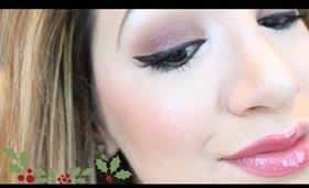 *Simple & Soft Christmas Makeup Tutorial*