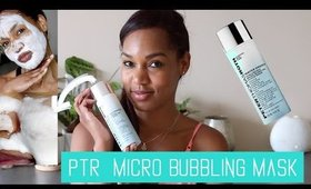 Spring Skincare | Peter Thomas Roth Micro Bubbling Mask Review