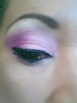 BH cosmetics light pink and dark pink blended