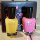 New Zoyas - Creamy and Tobey