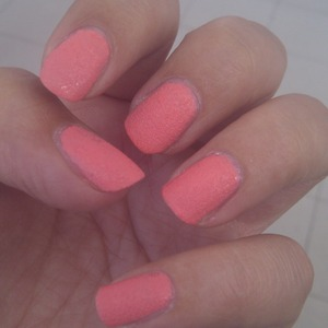 sugar nails done with holiday nail polish by golden rose cosmetics
