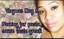 Vlogmas Day 8 - Making jar pasta sauce taste great!