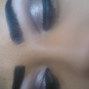 metalic Smokey eyes