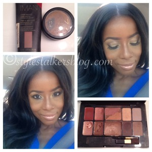 As a new Iman Cosmetics freelance artist, it's been fun trying all the products! Love my St. Tropez palette!