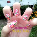 Wildflower Nail Design
