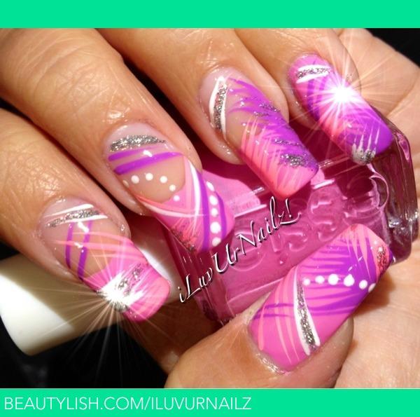Abstract Nail Design Iluvurnailz J S Iluvurnailz Photo Beautylish