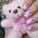 Genie Inspired Nail Art