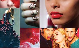 Beauty Mood Board: Glamour Gore