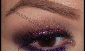 Cranberry, Bronze, and Purple Eyes feat. Glamour Doll