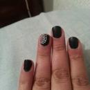 simple black matte.