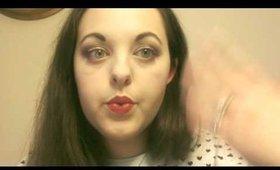 Younique's Stiff Upper Lip lipstain Demo!