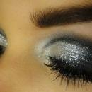 sparkly fancy cute makeup