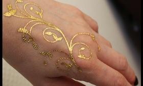Skinjewel : gold skin jewel tatoo
