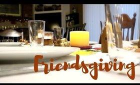 Hosting Friendsgiving Dinner