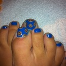 Cookie Monster toes!