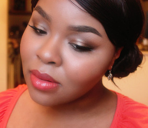 Soft and beautifying elegant makeup for special occasion.