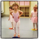 Violet dancing