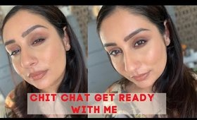 Lets talk Get Ready With Me Brown Smokey eye Nude Lips