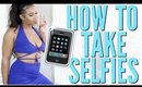 HOW TO TAKE BOMB AF SELFIES & SNAPCHAT WITH NO HANDS!!! | BeautybyGenecia