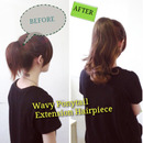 Wavy Ponytail Extension Hairpiece