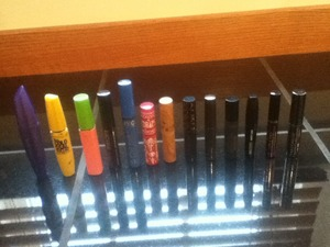 So, yeah. You could say I have some mascara.!(: