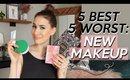 5 BEST & 5 WORST: NEW MAKEUP/BEAUTY RELEASES! | Jamie Paige