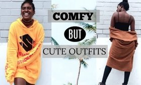 COMFY but CUTE OUTFITS // A FASHION FILM | JANET NIMUNDELE