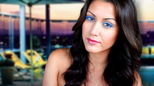 Screen Capture for my Electric Blue Lashes Tutorial. Check it out here --> http://youtu.be/ZdkN8BwafSQ