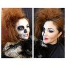 Halloween beauty zombie