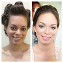 #beforeandafter #makeup #bridal #bride