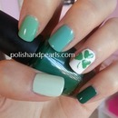 Simple St. Patrick's Day Shamrock