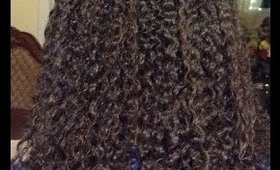 defining naturally curly hair